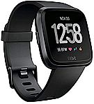 Fitbit Versa Smartwatch (34mm, Black) $99.97