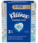 6-Pk 144-Ct Kleenex Everyday Facial Tissues $7.50 + Free Shipping
