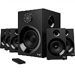 Logitech Z606 Surround Sound Speaker System with Bluetooth $59.99