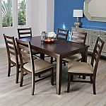 Cambria 7-Piece Dining Set by Abbyson Living $499