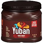 Yuban Dark Roast Ground Coffee 25.3oz $4.99