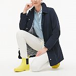 J. Crew Factory - Extra 60% Off Clearance: Scalloped Coat $36 & More