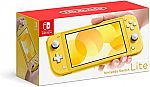 Nintendo Switch Lite - Yellow $199.99