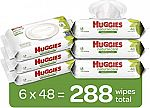 288-Ct HUGGIES Natural Care Baby Wipes $9 or Less