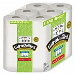 12-Rolls Complete Home Ultra Quilted Super Premium Paper Towels $10 + Free Shipping
