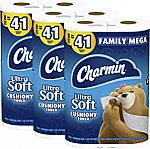 24-Ct Charmin Ultra Soft Cushiony Touch Toilet Paper $30