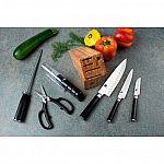 Shun Classic 7-piece Knife Block Set $250