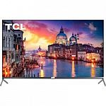 "55"" TCL 55R625 4K UHD QLED Roku TV + 2-Pk Google home Mini $500"
