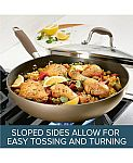 """Anolon Advanced Home Hard-Anodized 12"""" Nonstick Ultimate Pan $28 & More"""
