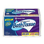 Member's Mark 45 Large rolls Ultra Premium Soft and Strong Bath Tissue $20