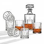 7-Piece Whiskey Decanter Set $14