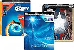 Disney 4K and Blu-ray SteelBook movies from $4.99