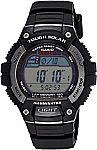 Casio Men's WS220 Tough Solar Digital Sport Watch $18.89