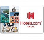 $100 Hotels.com Gift Card $90