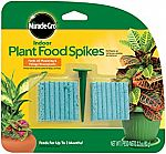 48-Count Miracle-Gro Indoor Plant Food Spikes $2.13 & More