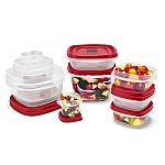 Rubbermaid Easy Find Vented Lids Food Storage Containers 24-Pc $10, 28-Pc $12