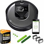 iRobot Roomba i7 7150 Wi-Fi Connected Vacuum with Deco Gear i7 Accessory Bundle $499
