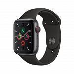 Apple Watch Series 5 (GPS + Cellular, 44mm) $429