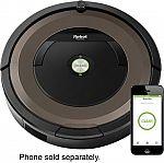 iRobot Roomba 890 Wi-Fi Connected Robot Vacuum $300