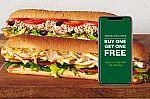 Buy 1 Footlong Sub Get 1 Free