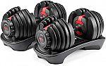 Bowflex SelectTech 552 Adjustable Dumbbells (Pair) $330