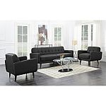 Hailey Sofa & Chair Set, Assorted Colors $599, Calvin Italian Leather Power Recliner $499