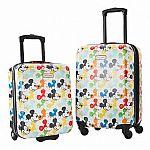 American Tourister Disney 2-piece Hardside Carry-On Luggage Set $50
