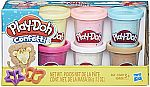 6-Pk. Play-Doh Confetti Compound Collection + 2 Cutters $4.49