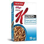 19oz Value Size Kellogg's Special K Breakfast Cereal $2.72
