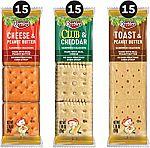 45-Pk Keebler Sandwich Crackers $8.15