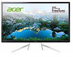 """Acer 32"""" Class WQHD IPS FreeSync Monitor (ET322QU) $200"""