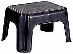 Rubbermaid Step Stool (Black) 200lbs $5.47