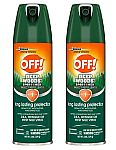 2-Count 6-Oz Deep Woods Off! Sportsmen Insect Repellent II $3.30