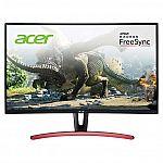 "Acer ED273UR 27"" Class Curved WQHD FreeSync 144Hz Gaming Monitor $299.99"