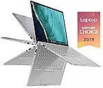 "ASUS Chromebook Flip C434 2-In-1 14"" FHD Laptop (M3-8100Y 8GB 64GB) $580"