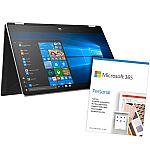 "HP Pavilion x360 15.6"" HD Touch Laptop (i7-8565U 8GB 512GB SSD 15-dq0975cl) + Microsoft 365 Personal $800"