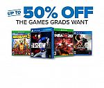 GameStop ConGRADulations Sale: $80 Off PreOwned Xbox One X Consoles, 50% Off Select Games & More
