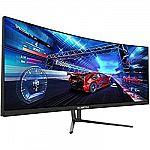 "AOC 34"" Curved UltraWide QHD 1ms 144Hz Freesync Gaming Monitor $427.27"