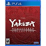 The Yakuza Remastered Collection Standard Edition - PlayStation 4 $19.99 (Org $60)