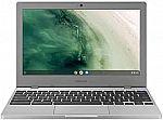 """Samsung Chromebook 4 11.6"""" HD Laptop (N4000 4GB 32GB) $199"""