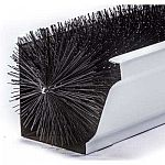 GutterBrush Standard 5 in. - 15 ft. Pack Max-Flow Filter Brush Gutter Guard $42 and more