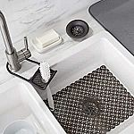 4-Pieces AmazonBasics Sink Set Bundle $5.95