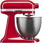 KitchenAid Artisan 3.5 Quart Tilt-Head Stand Mixer (3 Colors) $179.99