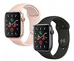 Apple Watch Series 5 GPS With Sport Band 40mm $305, 44mm $335