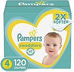 Amazon Buy 2 Boxes Pampers Diapers, Save $15