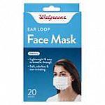 Walgreens 20 Ct Earloop Face Masks Small $8.79