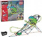 402-pc K'NEX Thrill Rides Twisted Lizard Roller Coaster Building Set $9.78