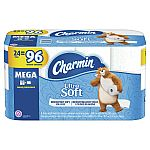 24-Count Charmin Ultra Soft Toilet Paper $23.82 & more