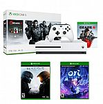 Xbox One S 1TB Gears 5 Console Bundle + Ori and the Will of the Wisps + Microsoft Halo 5 $300 and more