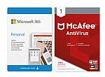 Microsoft 365 Personal - McAfee Antivirus $9.98